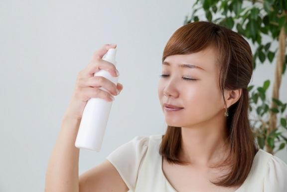 ミスト化粧水の上手な使い方・ポイントについて